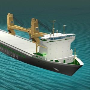 SAL Shipping | 3D Model & Render